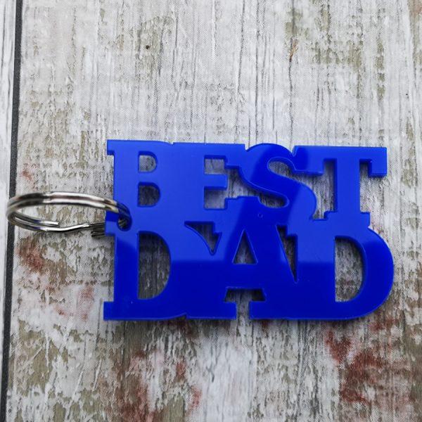 Best Dad Keyring