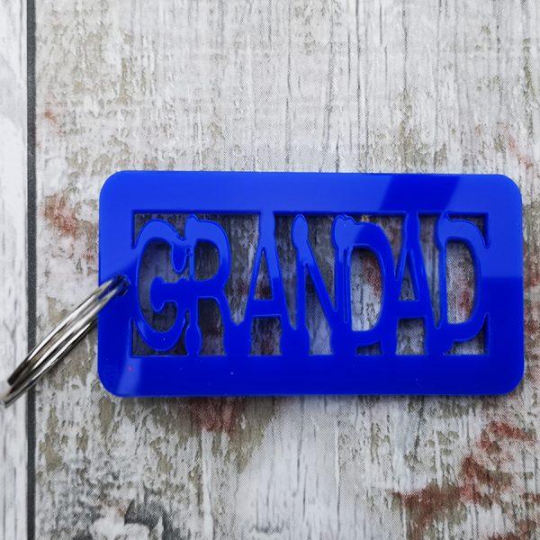 Grandad Keyring