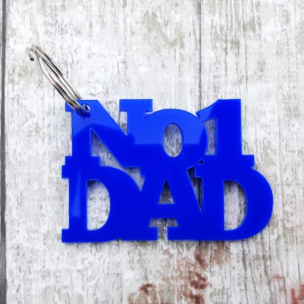 No 1 Dad Keyring