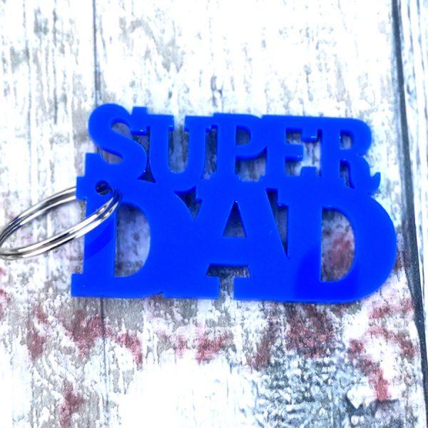 Superdad Keyring
