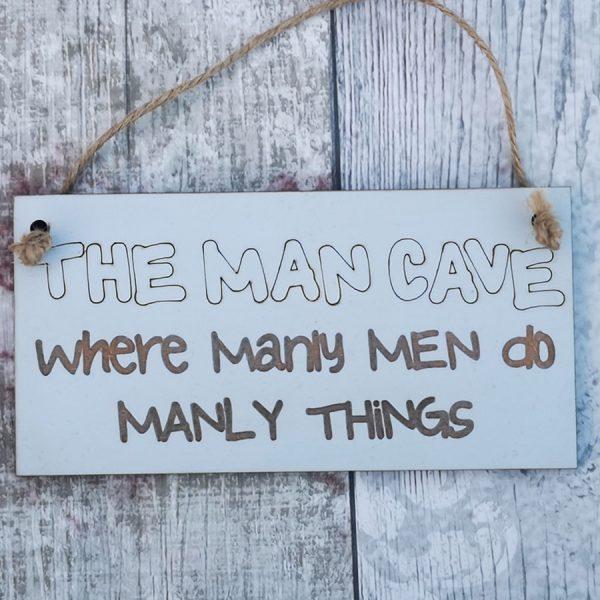 ManCave Plaque