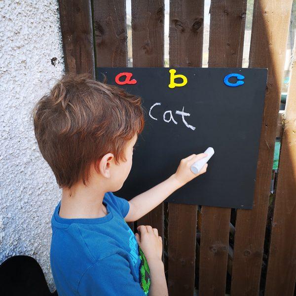 ABC Chalkboard (Outdoor + Indoor)