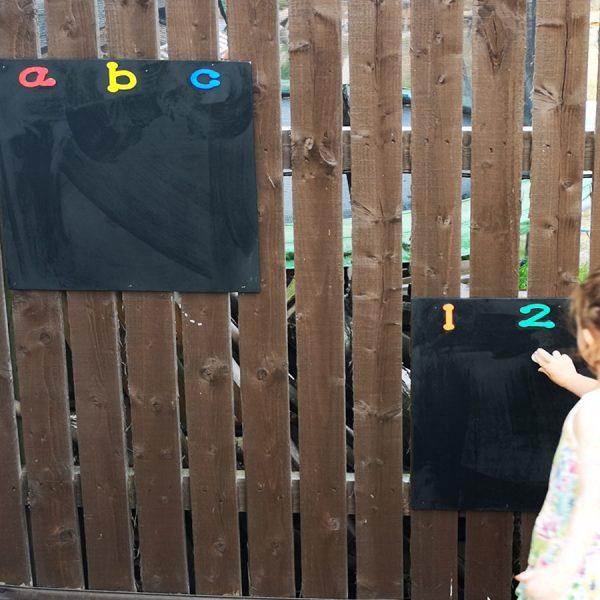 123 | ABC Chalkboard Set